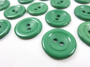 K002 Plastic Button 22 mm green
