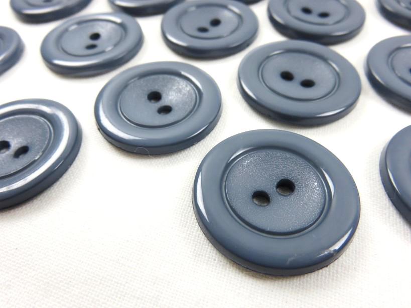 K002 Knapp 24 mm blå