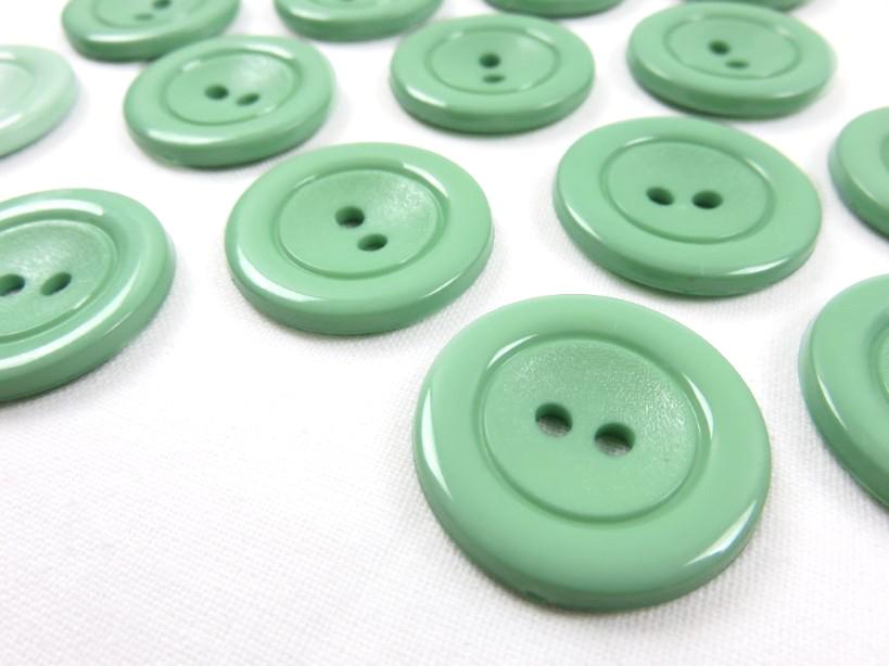 K002 Knapp 25 mm grön