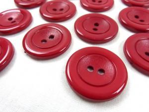 K002 Knapp 30 mm röd