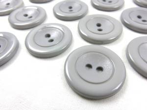 K002 Knapp 30 mm grå