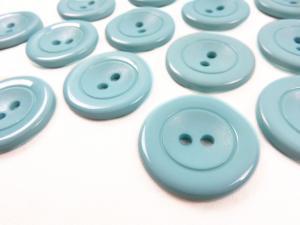 K002 Knapp 30 mm blå