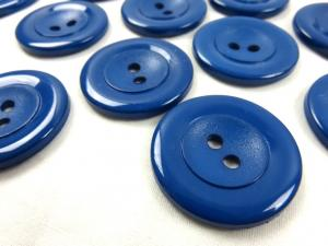 K002 Knapp 34 mm mörkblå