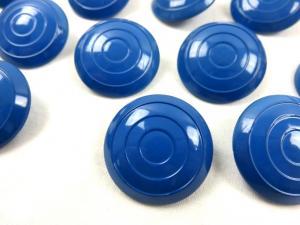 K005 Knapp 28 mm cirkel mörkblå (2:a sort)