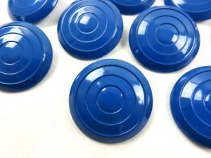 K005 Knapp 34 mm cirkel mörkblå (2:a sort)