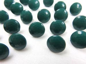 K006 Knapp 10 mm diamant mörkgrön