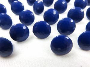 K006 Knapp 10 mm diamant mörkblå