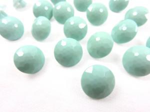 K006 Knapp 12 mm diamant ljusgrön