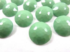 K006 Knapp 18 mm diamant ljusgrön