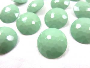 K006 Knapp 21 mm diamant ljusgrön