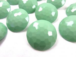 K006 Knapp 30 mm diamant ljusgrön
