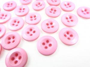 K008 Knapp 13 mm rosa
