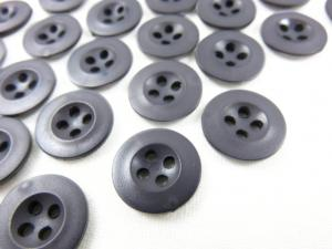 K008 Knapp 13 mm mörkgrå