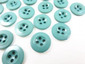K008 Plastic Button 13 mm Basic green