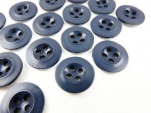 K008 Knapp 13 mm blå