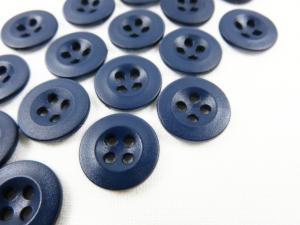 K008 Knapp 13 mm mörkblå