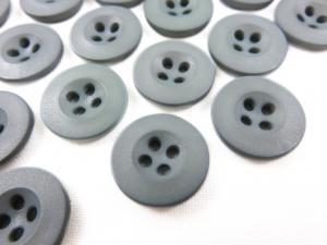 K008 Knapp 15 mm grå