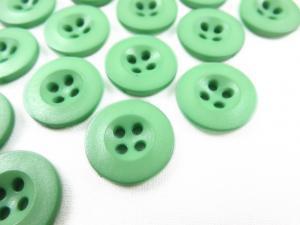 K008 Knapp 15 mm mellangrön