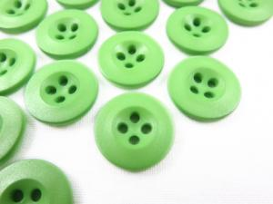 K008 Knapp 15 mm grön