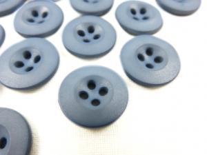 K008 Knapp 15 mm blå