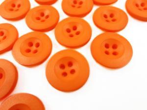 K008 Knapp 18 mm orange