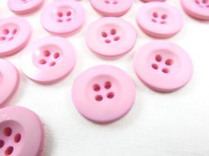 K008 Knapp 18 mm rosa