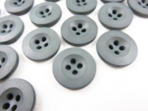 K008 Knapp 18 mm grå