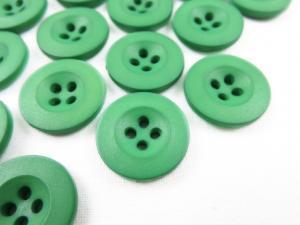 K008 Knapp 18 mm grön