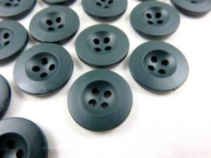 K008 Knapp 18 mm mörkgrön