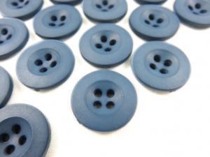 K008 Knapp 18 mm blå