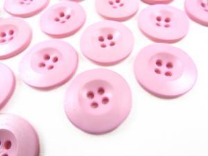 K008 Knapp 20 mm rosa