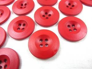 K008 Knapp 20 mm röd