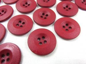 K008 Knapp 20 mm vinröd