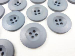 K008 Knapp 20 mm grå