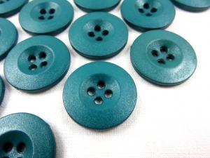 K008 Knapp 20 mm grönblå