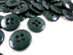 K010 Knapp 17 mm mörkgrön