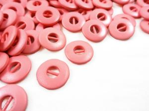 K012 Knapp 13 mm rosa