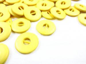 K012 Knapp 15 mm gul