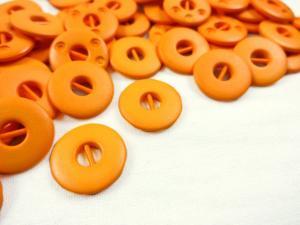 K012 Knapp 15 mm orange
