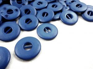 K012 Knapp 15 mm blå
