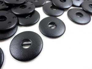K012 Knapp 23 mm svart