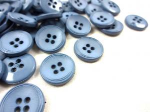 K013 Knapp 15 mm blå