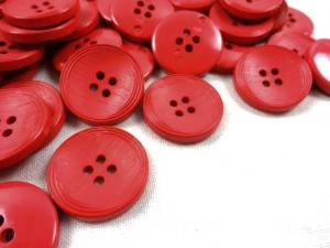 K013 Knapp 20 mm röd