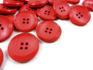 K013 Knapp 23 mm röd