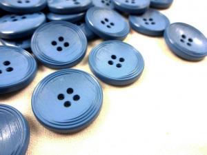 K013 Knapp 23 mm blå