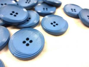 K013 Knapp 25 mm blå