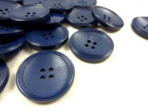 K013 Knapp 28 mm mörkblå