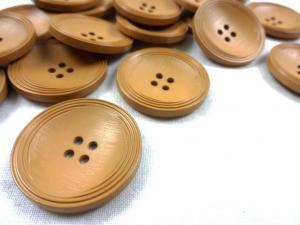 K013 Knapp 31 mm brun