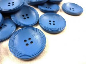 K013 Knapp 31 mm blå