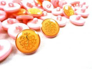 K015 Knapp Emblem 16 mm rosa